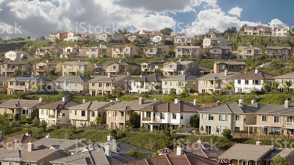 home - Orange County stock photo