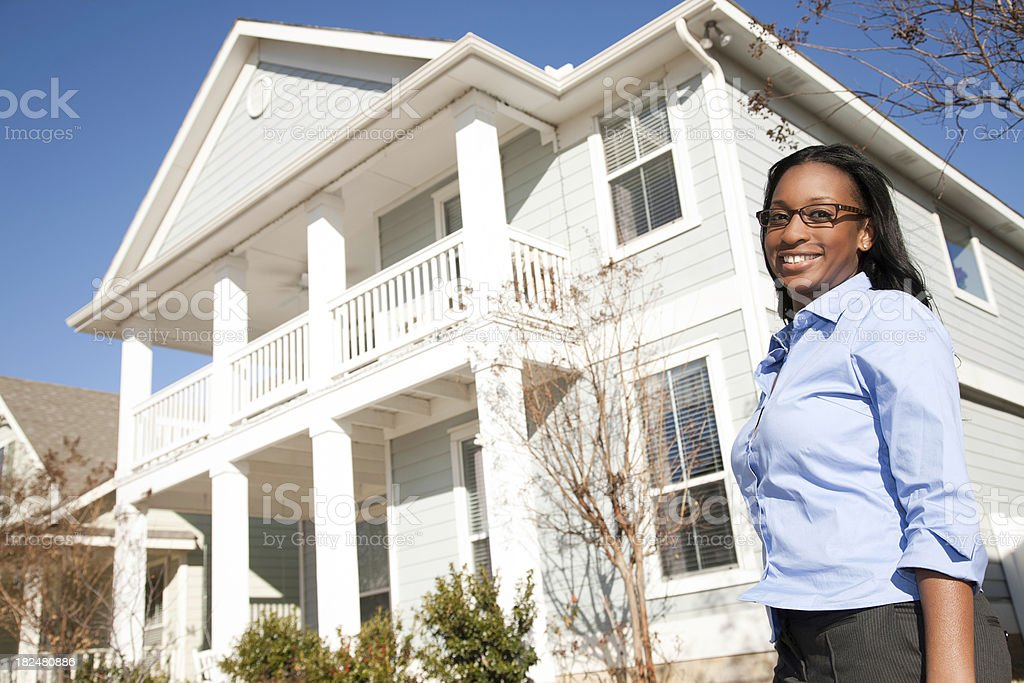 Home Owner Proudly in front of Big White House.See more of this...