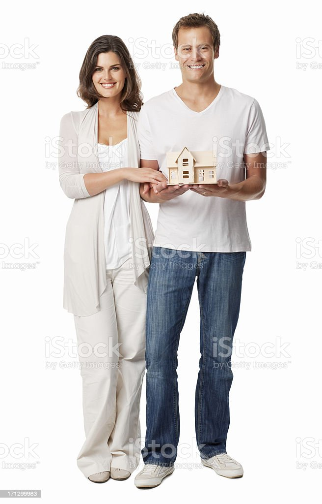 Home Ownership Planning - Isolated royalty-free stock photo