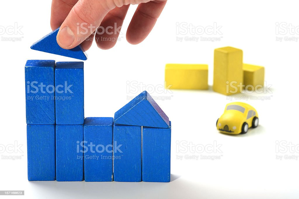 Home planning 3 royalty-free stock photo