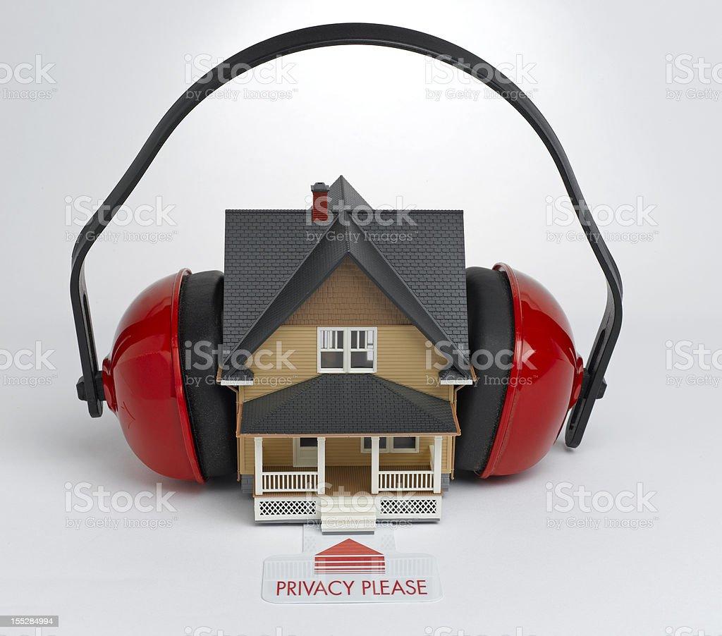 Home Privacy stock photo