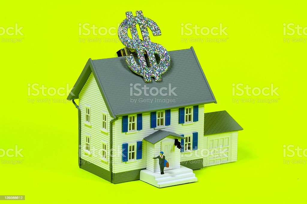 Home Purchase royalty-free stock photo