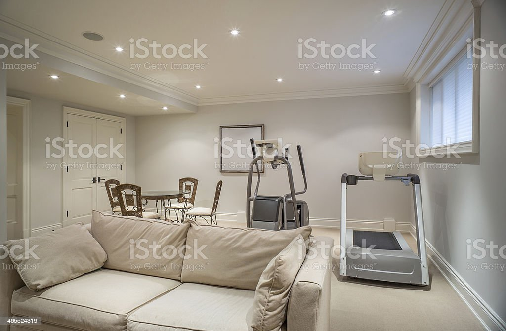 Home Recreation Room stock photo