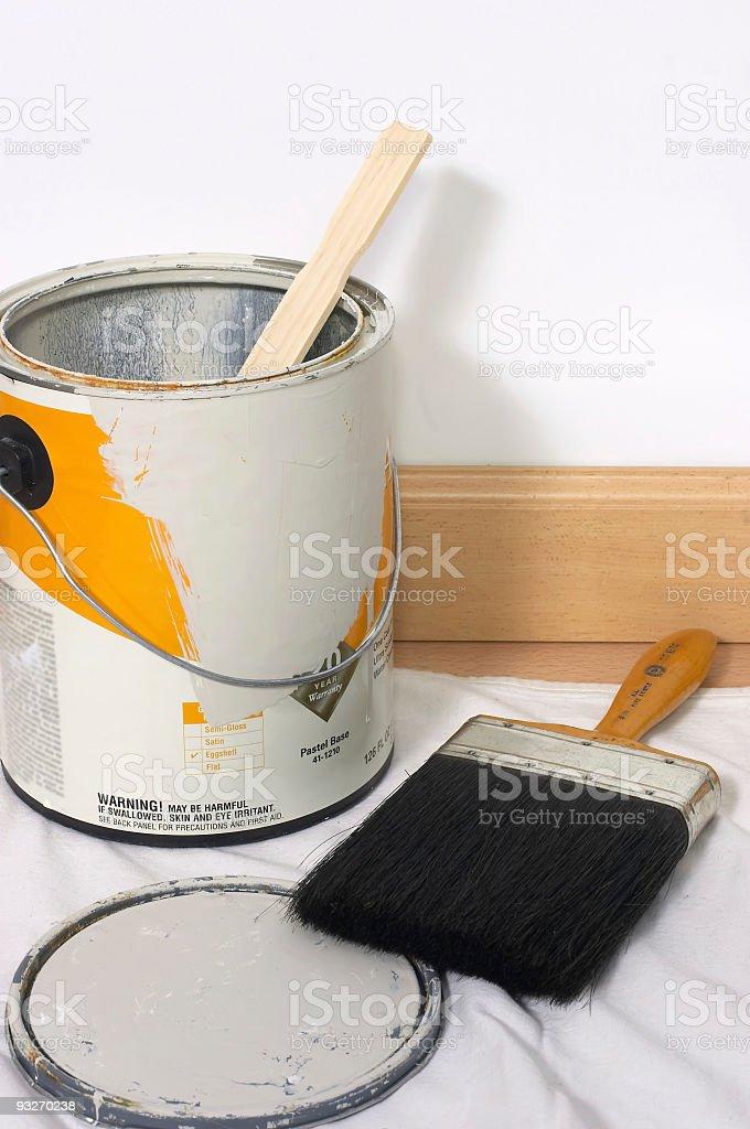 Home Redecorating stock photo