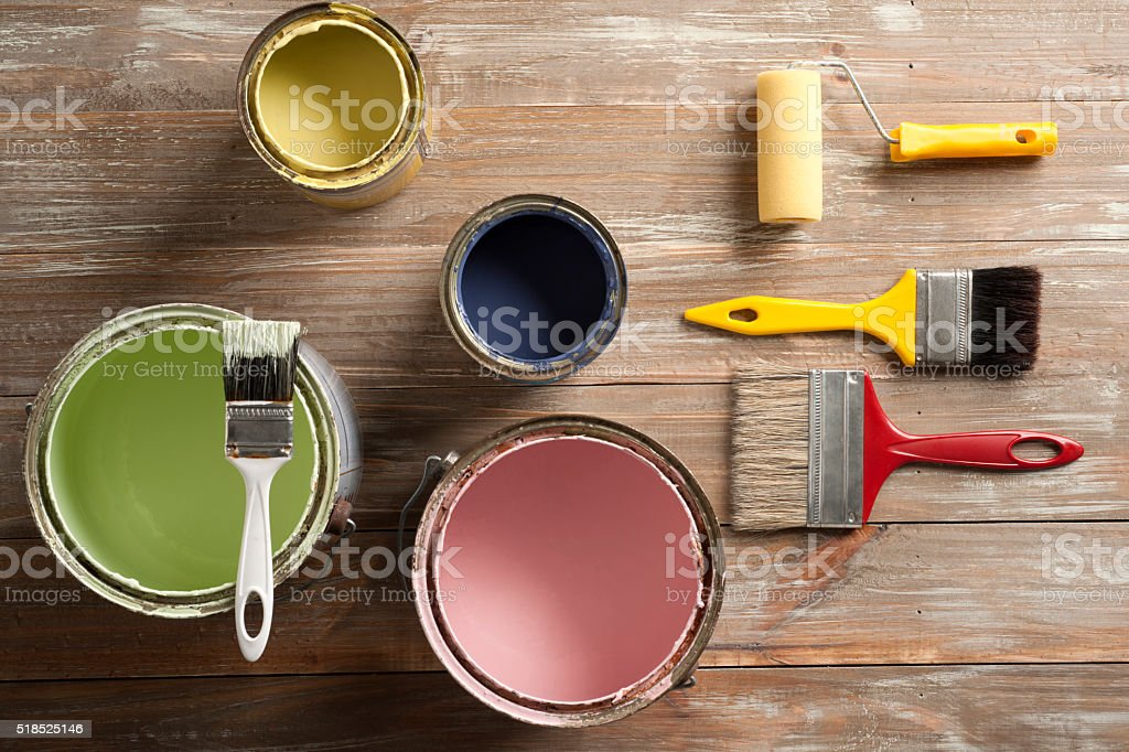 Home removation stock photo