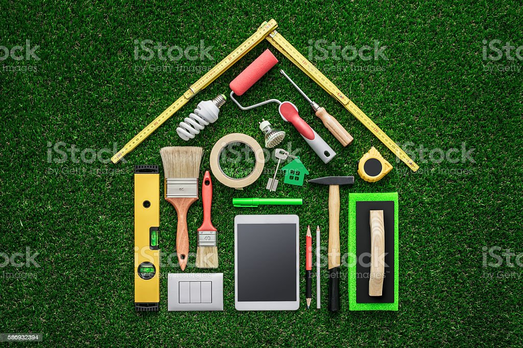 Home renovation and DIY stock photo