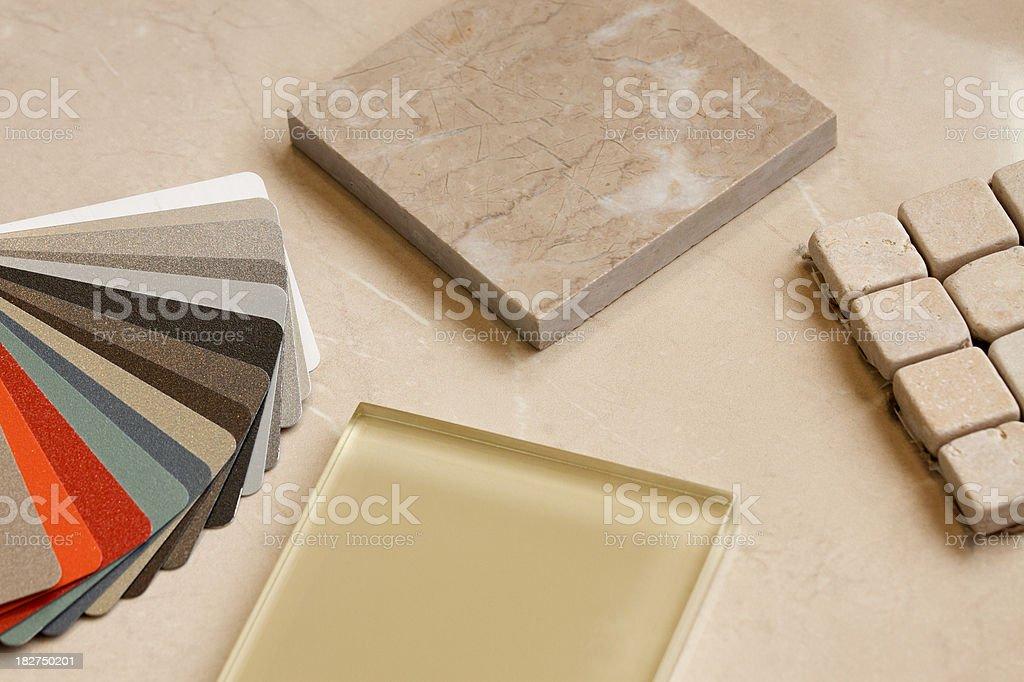 Home Renovation Choices. royalty-free stock photo