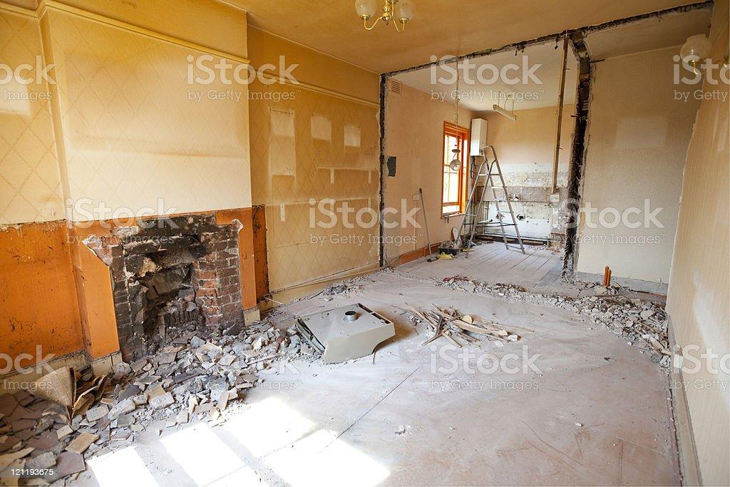 Home renovation royalty-free stock photo