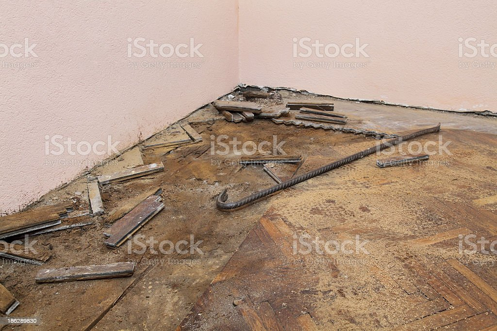 Home renovation royalty-free stock photo