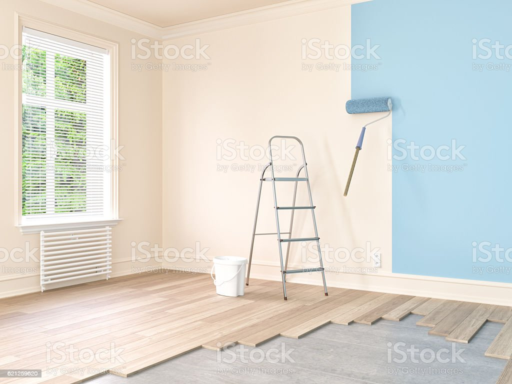 Home Repair and Painting stock photo