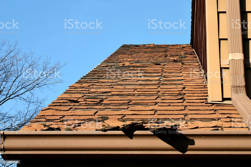Home Repair Series - roofing stock photo