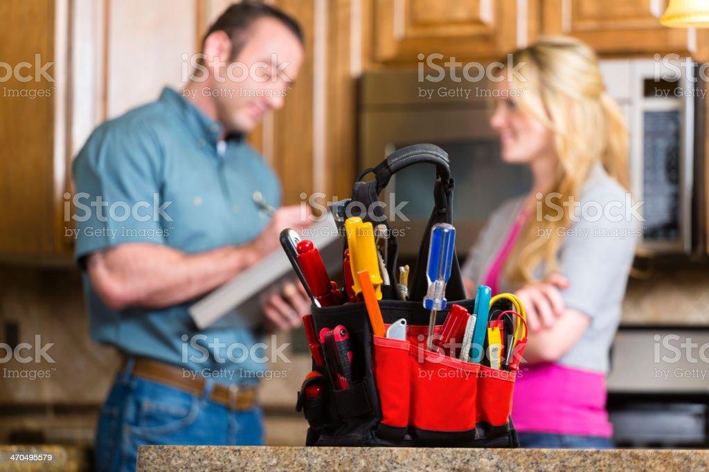 Home Repairman royalty-free stock photo