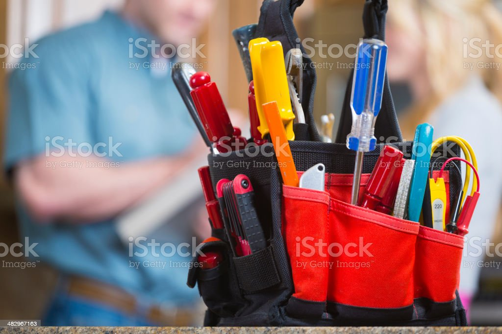 Home Repairman stock photo