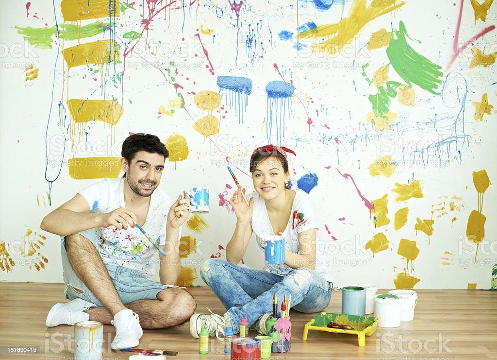 Home repairs royalty-free stock photo