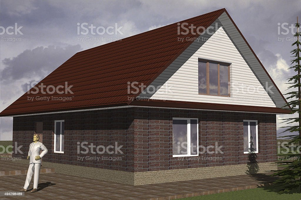 Home Residential stock photo