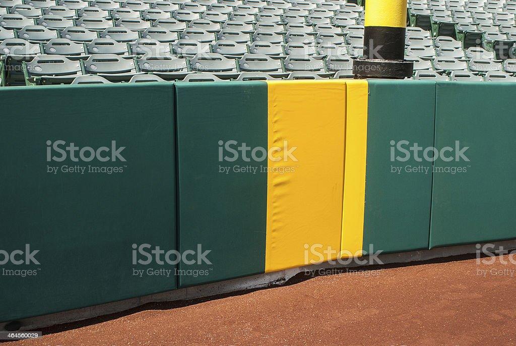 Home Run Foul Pole stock photo