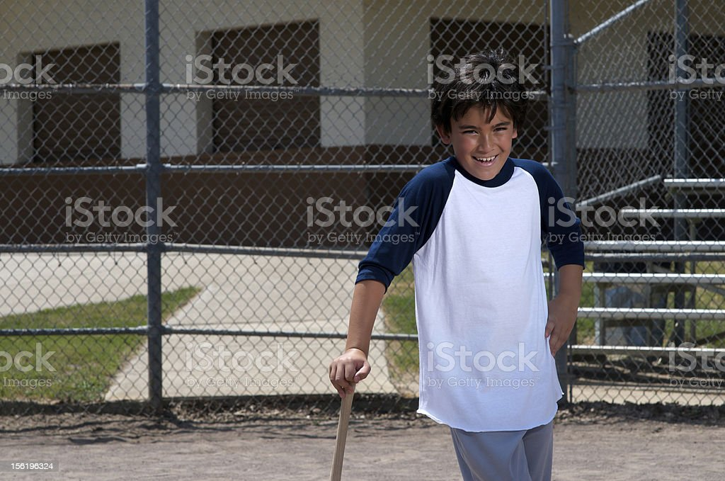 Home Run! royalty-free stock photo