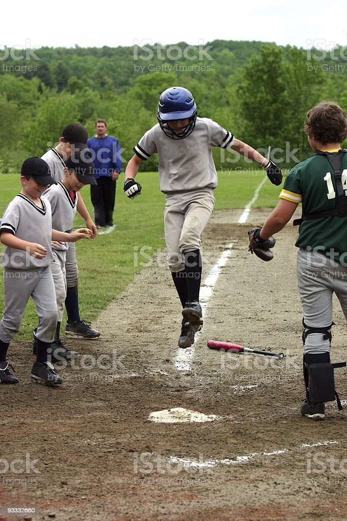 Home Run royalty-free stock photo