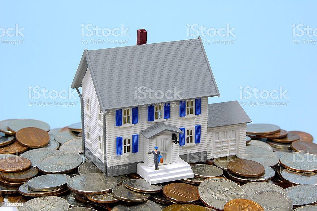 Home Savings 2 royalty-free stock photo