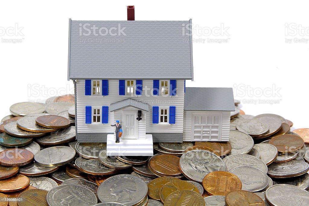 Home Savings Concept stock photo