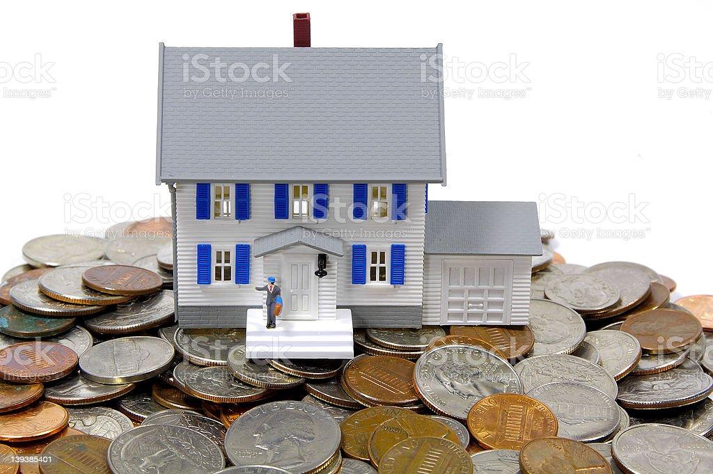 Home Savings Concept stock photo