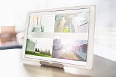 Home Security Cameras Digital Tablet