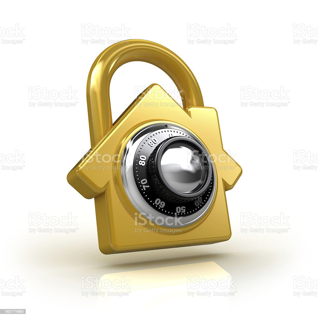 home security concept royalty-free stock photo
