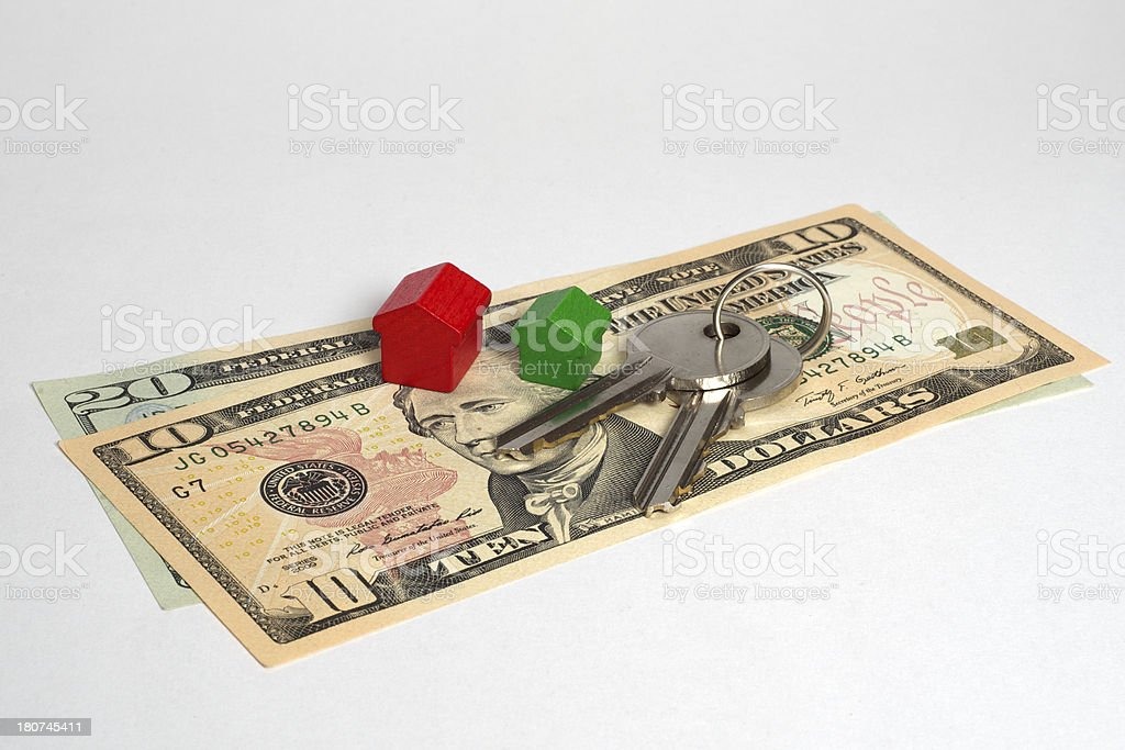 Home security cost royalty-free stock photo