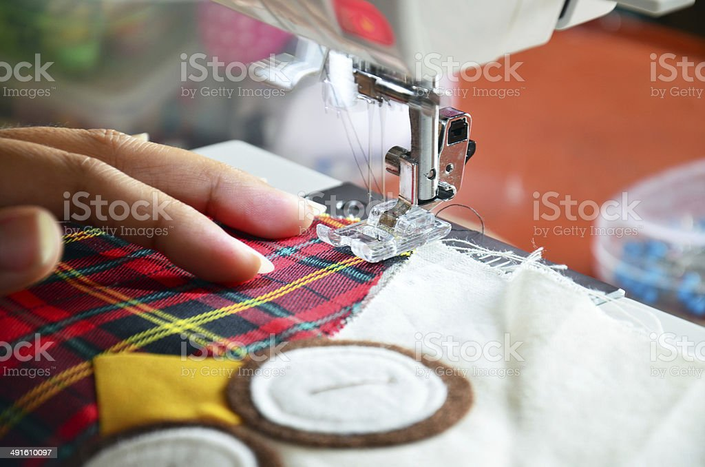 Home Sewing Machine royalty-free stock photo