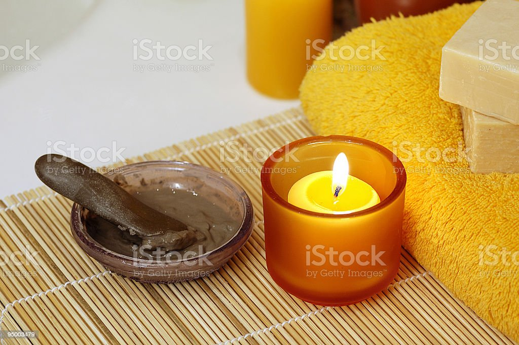 home spa royalty-free stock photo