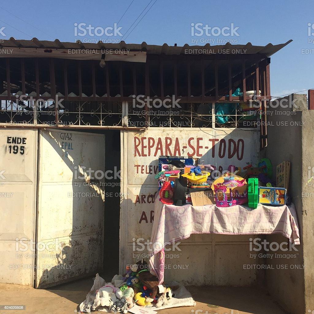 Home store in Luanda, Angola stock photo