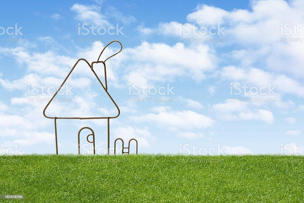 Home symbol royalty-free stock photo