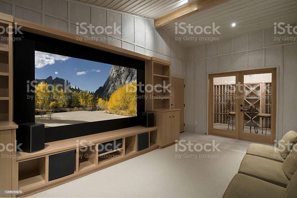 Sistema de sonido envolvente foto de stock libre de derechos