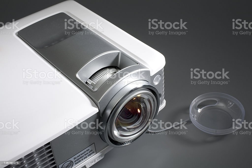 Home Theater Projector stock photo