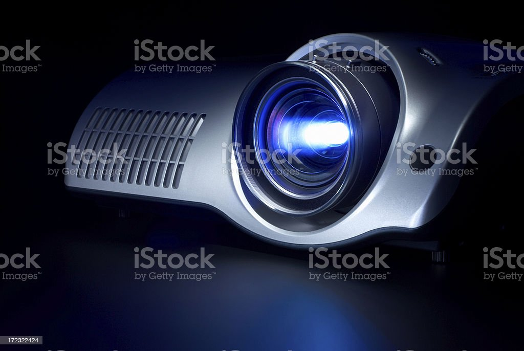 Home Theater Projector royalty-free stock photo