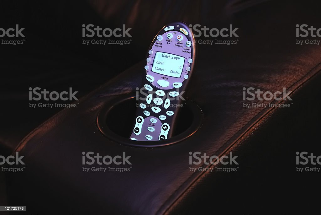 Home Theater Remote royalty-free stock photo