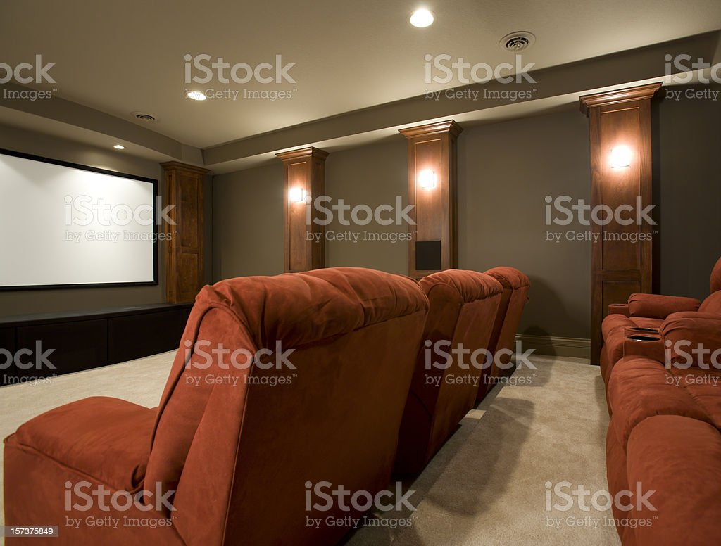 Home theatre. royalty-free stock photo