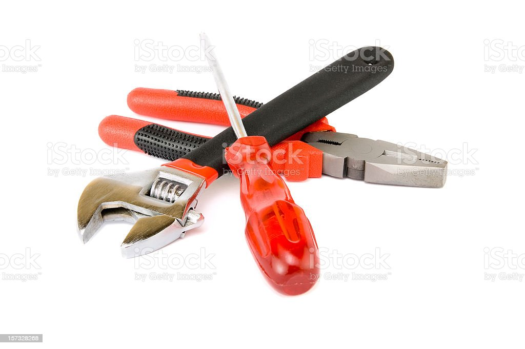 Home tools isolated royalty-free stock photo