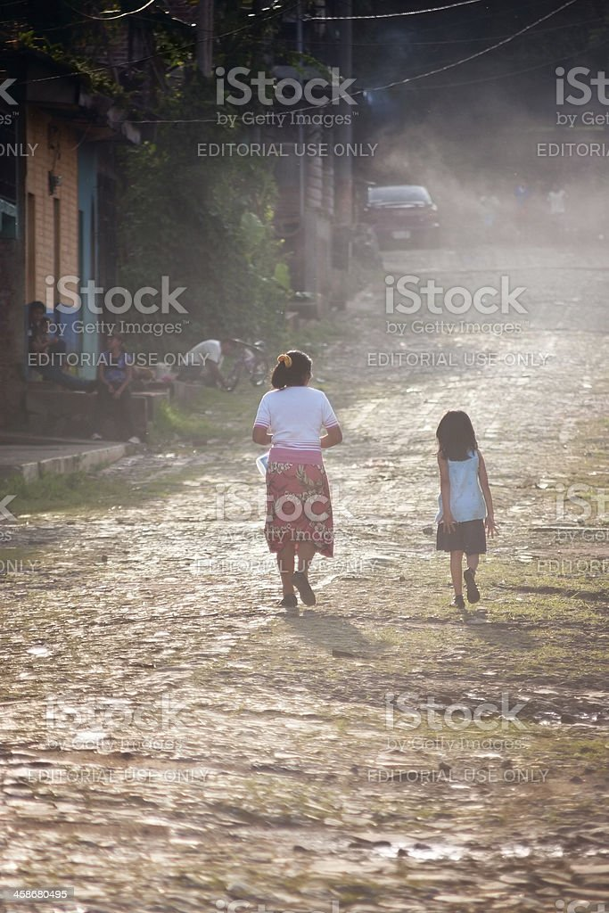 Home trail royalty-free stock photo