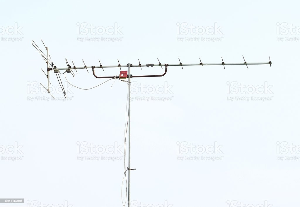 home TV antenna royalty-free stock photo