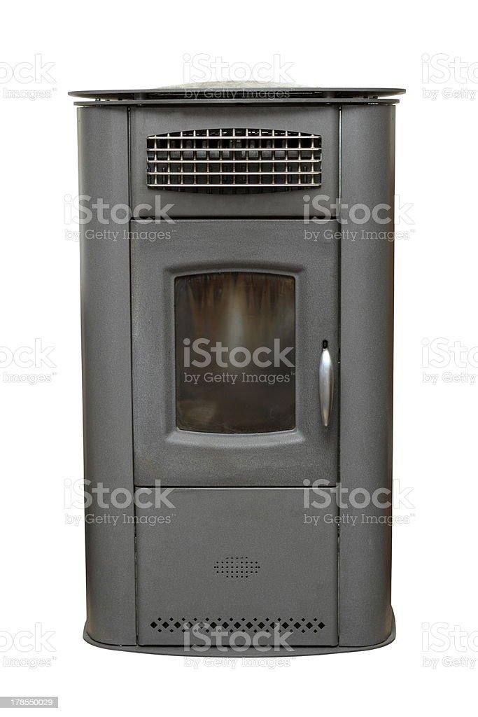home vintage heater stock photo