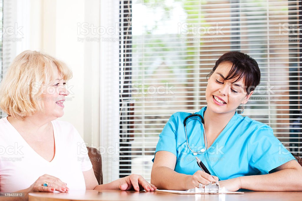 Home Visit royalty-free stock photo