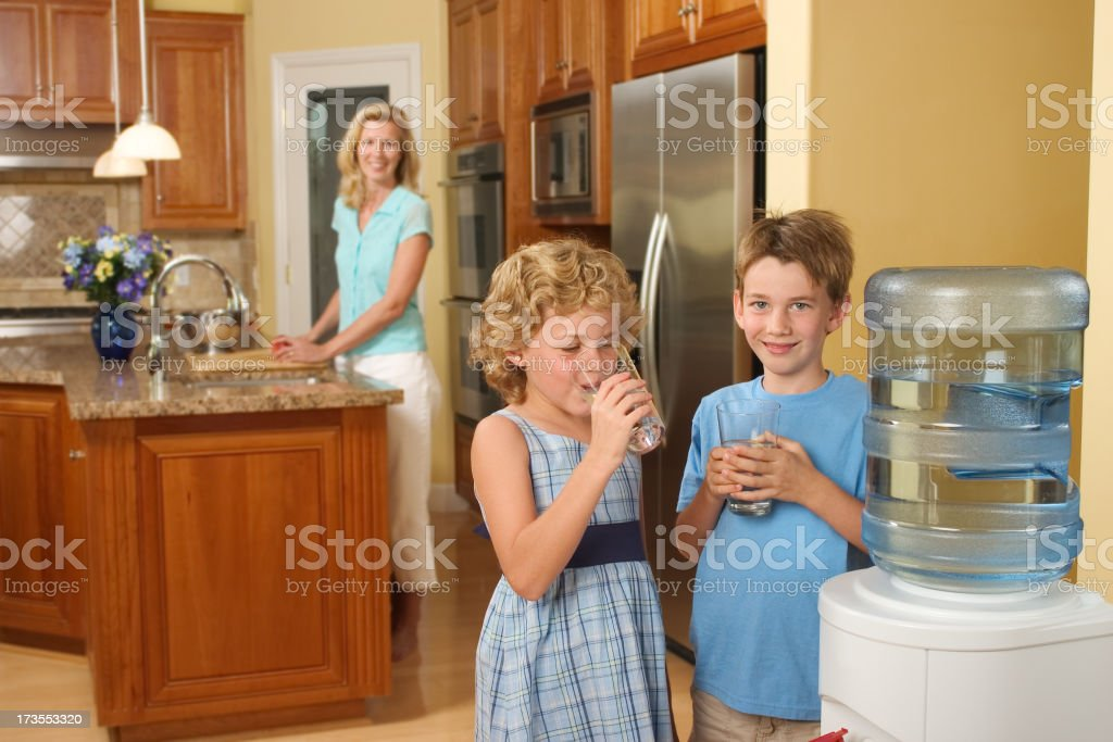 Home Water Cooler stock photo