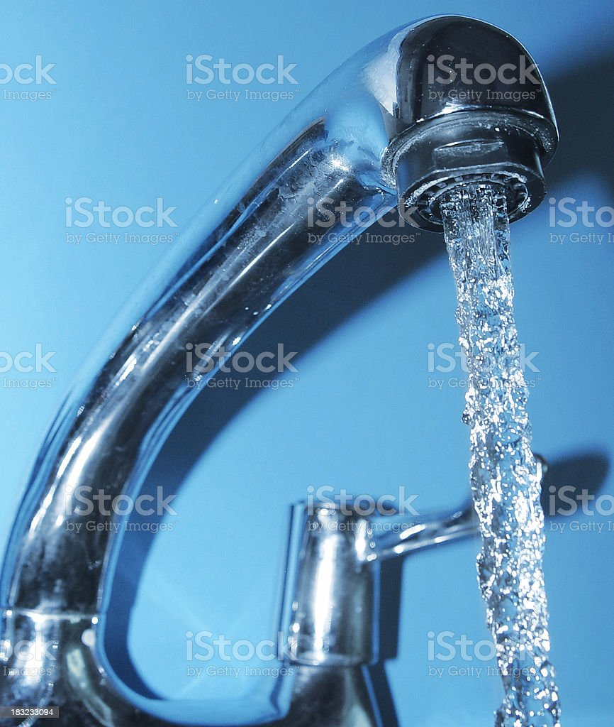 Home - Water Tap royalty-free stock photo