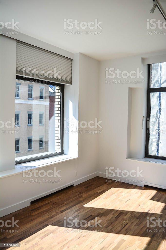 Home window and shadows stock photo