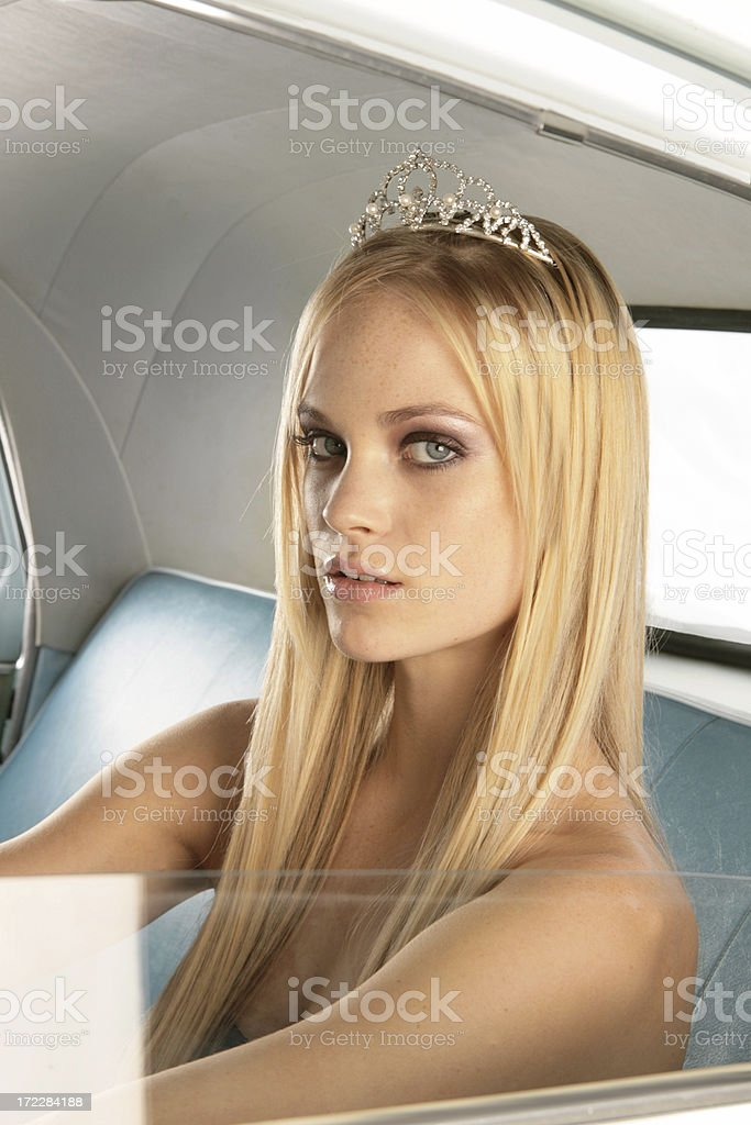 Homecoming Queen Series stock photo