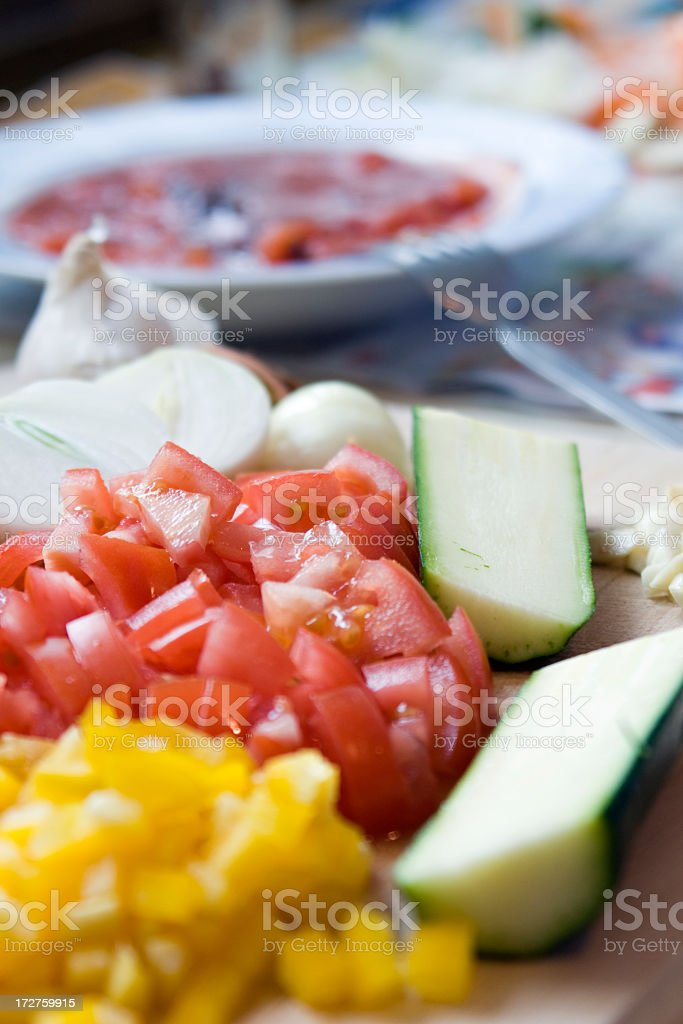 Homecooking royalty-free stock photo