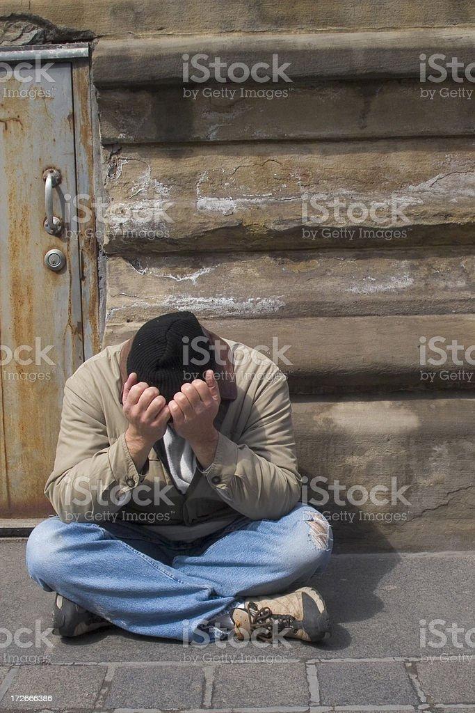 homeless 9 royalty-free stock photo