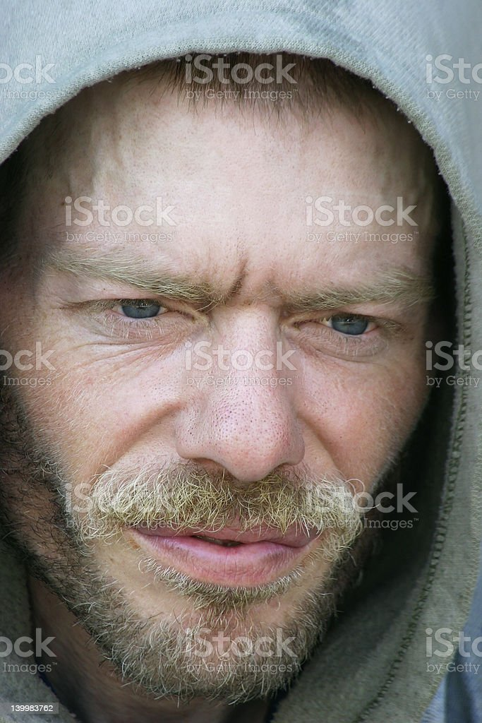 Homeless and Friendless royalty-free stock photo
