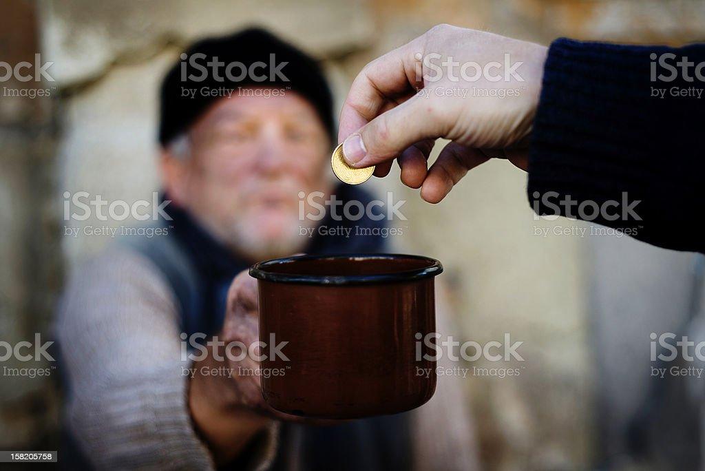 Homeless stock photo